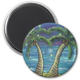 Ímã da palmeira do vaga-lume ímã redondo 5.08cm
