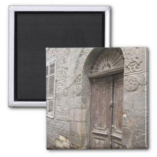 Ímã da porta da arquitetura do Cairo Egipto Ímã Quadrado
