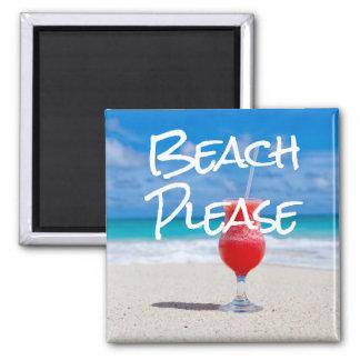 Imã Da praia tema náutico do oceano por favor