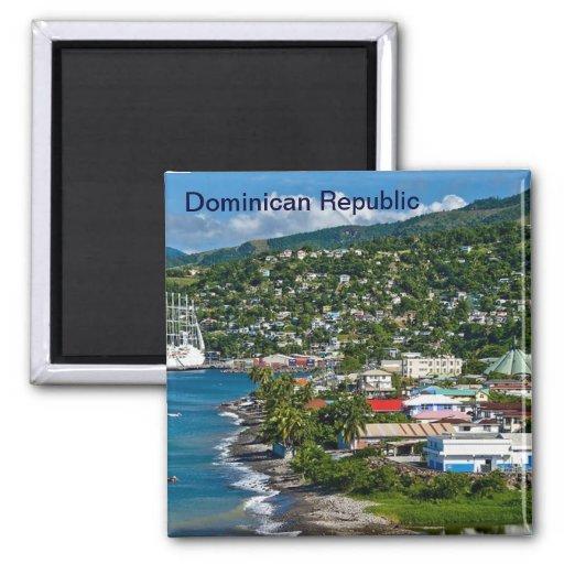 Ímã da República Dominicana Imãs De Geladeira