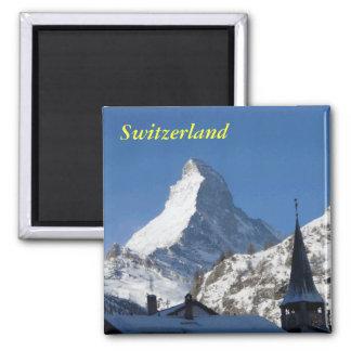 Ímã da suiça ímã quadrado
