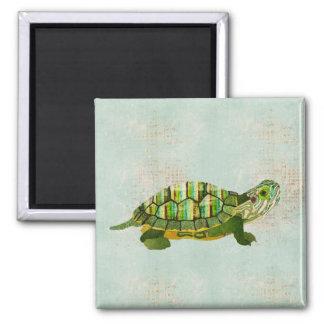Ímã da tartaruga do jade ímã quadrado