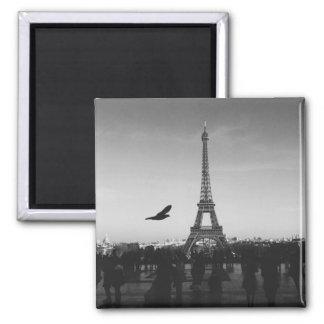 Ímã da torre Eiffel Ímã Quadrado