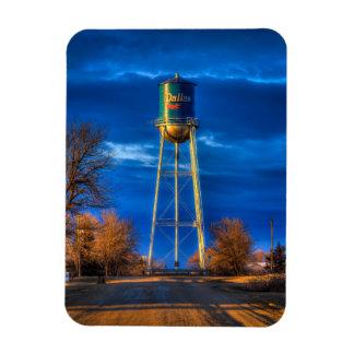 Ímã Dallas, torre de água do SD