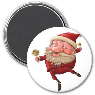Imã Dança dos sinos de Natal de Papai Noel