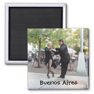 Imã Dançarinos do tango na plaza Dorrego