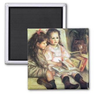 Ímã das belas artes das crianças ímã quadrado