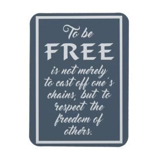 Ímã das citações da liberdade