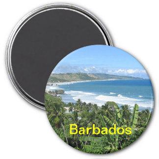 Ímã de Barbados Ímã Redondo 7.62cm