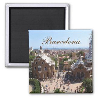 Ímã de Barcelona Ímã Quadrado