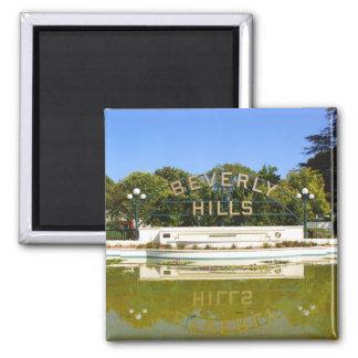 Ímã de Beverly Hills Ímã Quadrado