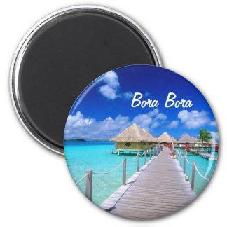 Ímã de Bora Bora Ímã Redondo 5.08cm