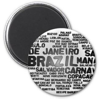 Ímã de Brasil Imas