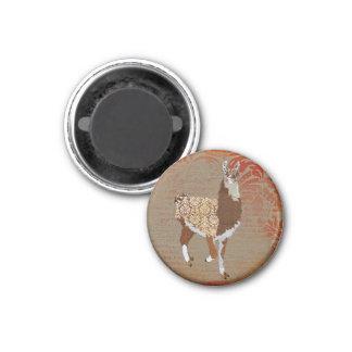 Ímã de bronze do lama ímã redondo 2.54cm