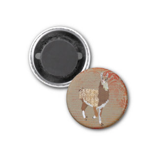 Ímã de bronze do lama imãs de refrigerador
