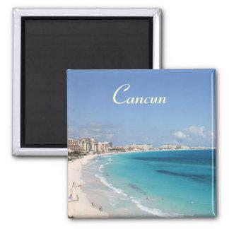Ímã de Cancun Ímã Quadrado