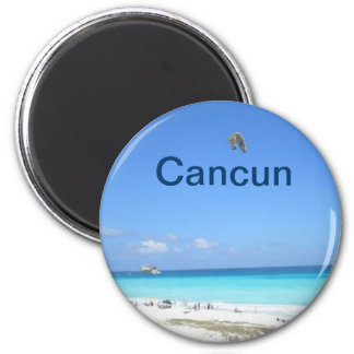 Ímã de Cancun Ímã Redondo 5.08cm