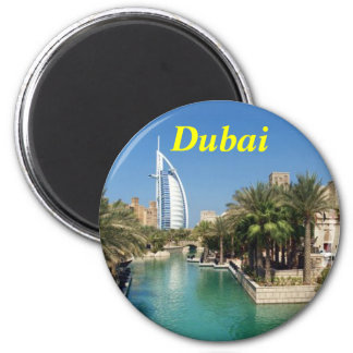 Ímã de Dubai Ímã Redondo 5.08cm