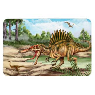 Ímã de Flexi da espécie do dinossauro