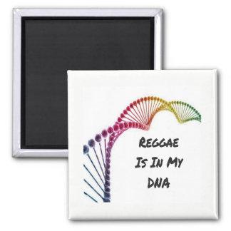 Imã de geladeira - a reggae está em meu ADN
