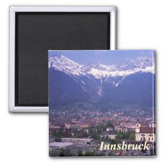 Ímã de Innsbruck Ímã Quadrado