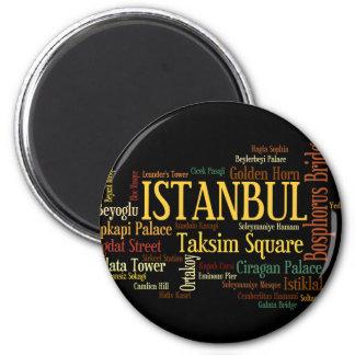 Ímã de Istambul Ímã Redondo 5.08cm
