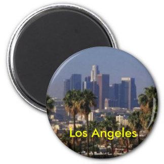 Ímã de Los Angeles Califórnia Ímã Redondo 5.08cm