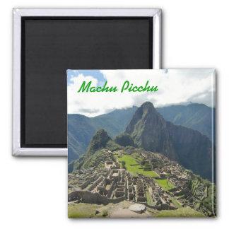 Ímã de Machu Picchu Ímã Quadrado