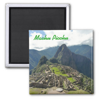 Ímã de Machu Picchu Ima De Geladeira