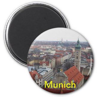 Ímã de Munich Ímã Redondo 5.08cm