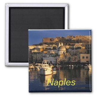 Ímã de Nápoles Italia Ímã Quadrado