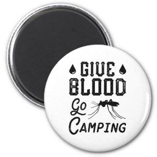 Imã Dê o sangue vão acampar