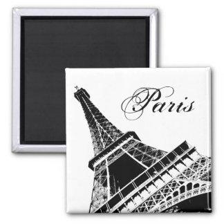 Ímã de Paris da torre Eiffel Ímã Quadrado