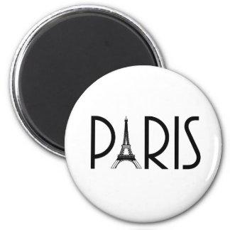 Ímã de PARIS Ímã Redondo 5.08cm