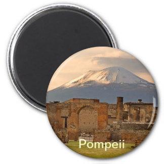 Ímã de Pompeii Ímã Redondo 5.08cm