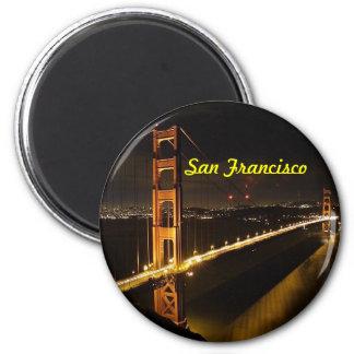 Ímã de San Francisco Ímã Redondo 5.08cm