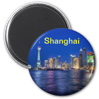 Ímã de Shanghai Ímã Redondo 5.08cm