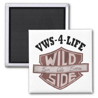 """Ímã de """"VWS-4-LIFE"""" Ímã Quadrado"""