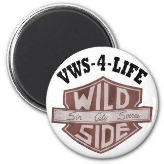 "Ímã de ""VWS-4-LIFE"" Ímã Redondo 5.08cm"