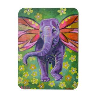 Ímã decorativo da arte do elefante