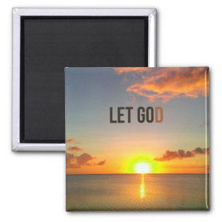 Imã Deixado vá deixar o ímã do deus