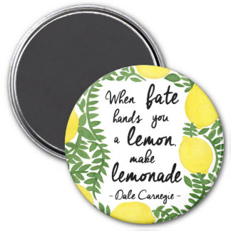 Imã Deixe-nos fazer a limonada