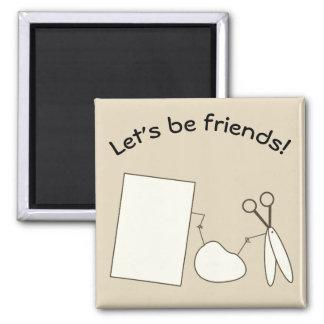 Imã Deixe-nos ser amigos