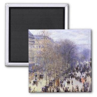 Imã DES Capucines por Claude Monet, belas artes do
