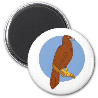 Imã Desenho Cunha-atado australiano da vara de Eagle