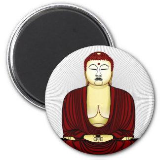 Imã Desenho de Buddha