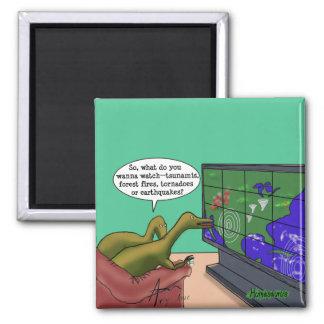 Imã Desenhos animados da paródia dos dinossauros das