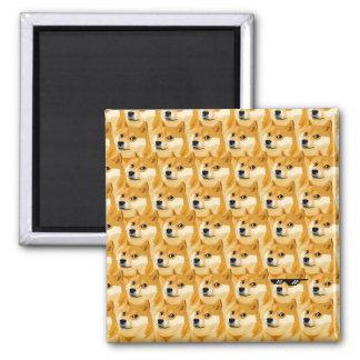 Imã Desenhos animados do Doge - textura do doge -