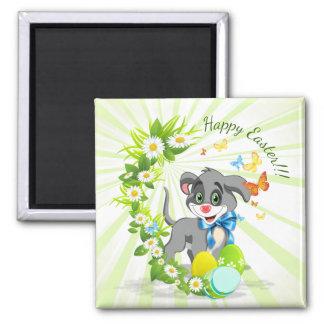 Imã Desenhos animados do filhote de cachorro do nariz