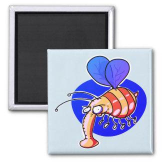 Imã desenhos animados engraçados da abelha da vespa